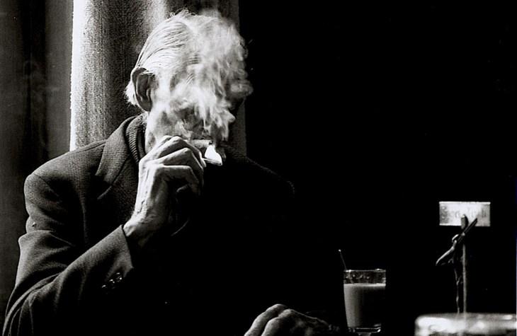 Vecchio fumatore