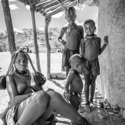 Opuwo, Namibia.