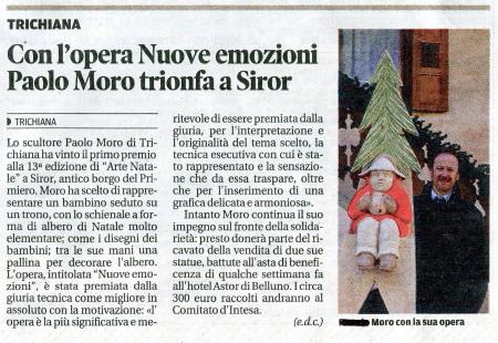 Corriere delle Alpi Nuove Emozioni