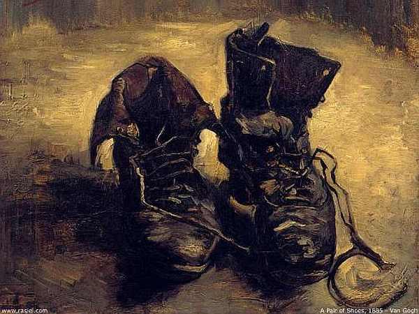 Le scarpe consunte di Van Gogh.