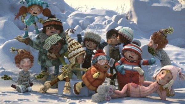 "I protagonisti di ""Palle di neve""."