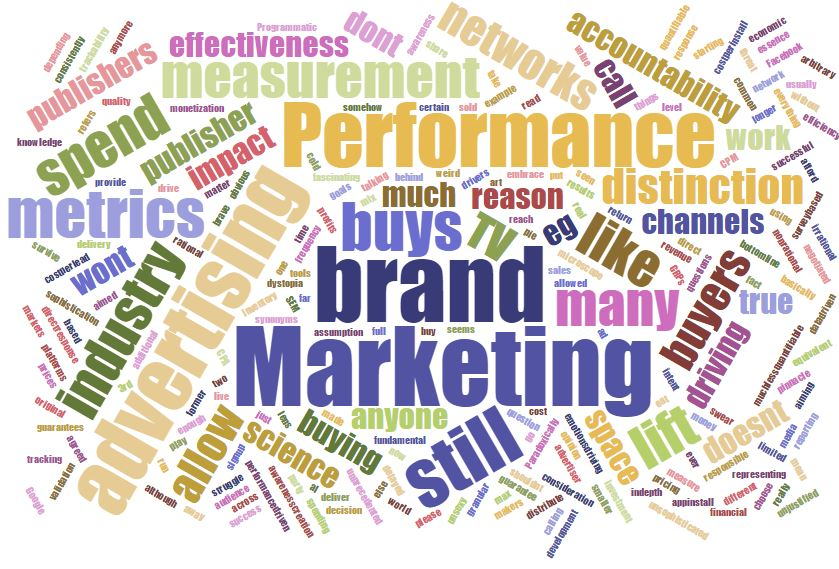 Don't call it Performance Marketing