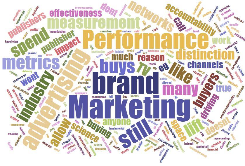 Don't call it Performance Marketing
