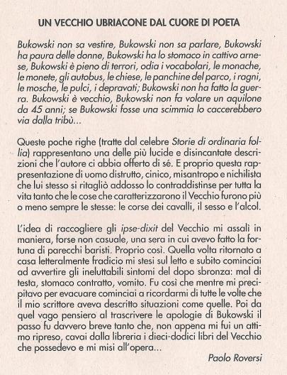 Introduzione Bukowski