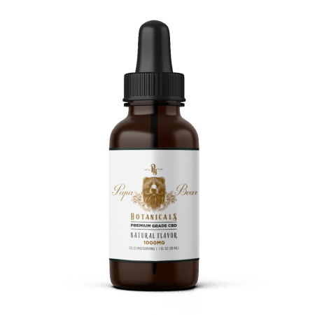 Papa Bear Botanicals 1000mg Oil Tincture