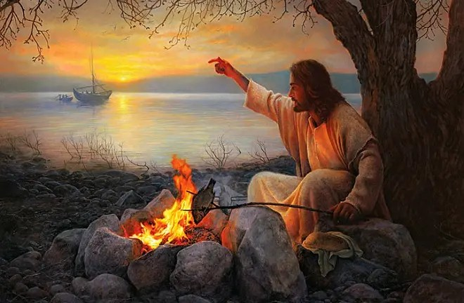 #Gospel: Work hard not for food that does not last, but for food that remains for eternal life