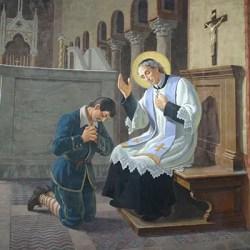 sveti Janez de Rossi - duhovnik