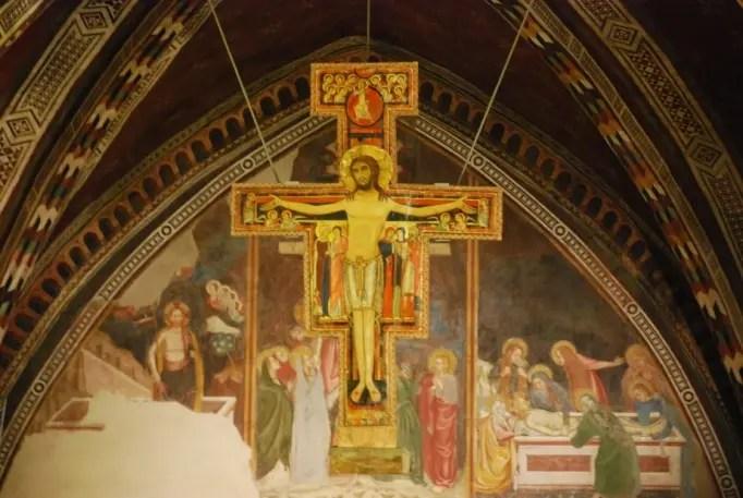 Il-Crocifisso-di-San-Damiano-e-San-Francesco