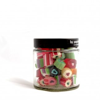 heart candy in a 70gr jar