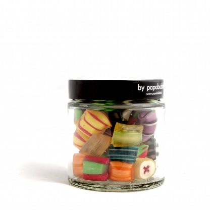 pillow fight candy in a 70gr jar