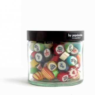 amsterdam candy in a 200gr jar