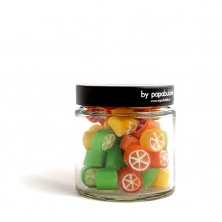 citrus candy in a 70gr jar