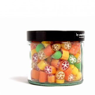 citrus candy in a 200gr jar