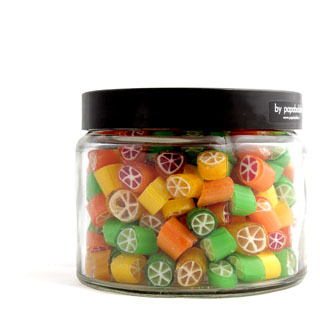 citrus candy in a 390gr jar