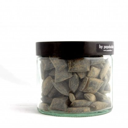 licorice candy in a 200gr jar