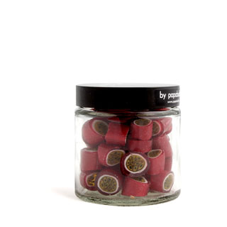 passion fruit candy in a 70gr jar