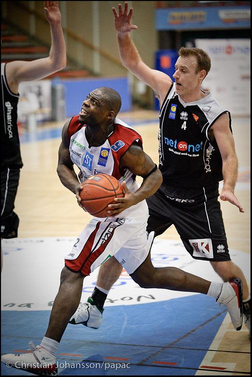 Olivier Ilunga och Jonas Larsson