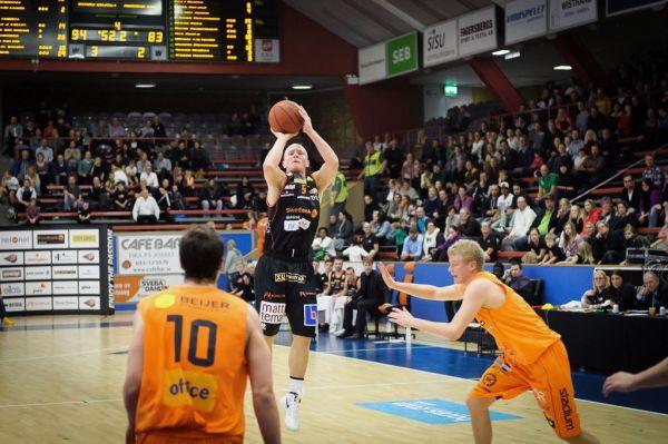 Basketligan, Borås Basket-Norrköping Dolphins, Boråshallen