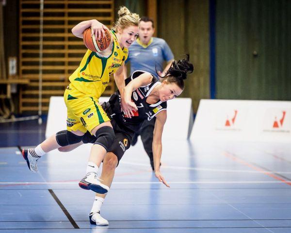 Basketligan Dam, Kvarnby Basket-Visby Ladies, Aktiviteten Mölndal