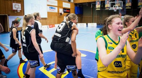 Basketligan Dam, Kvarnby Basket-Mark Basket, slutspel grupp 2, Aktiviteten Mölndal