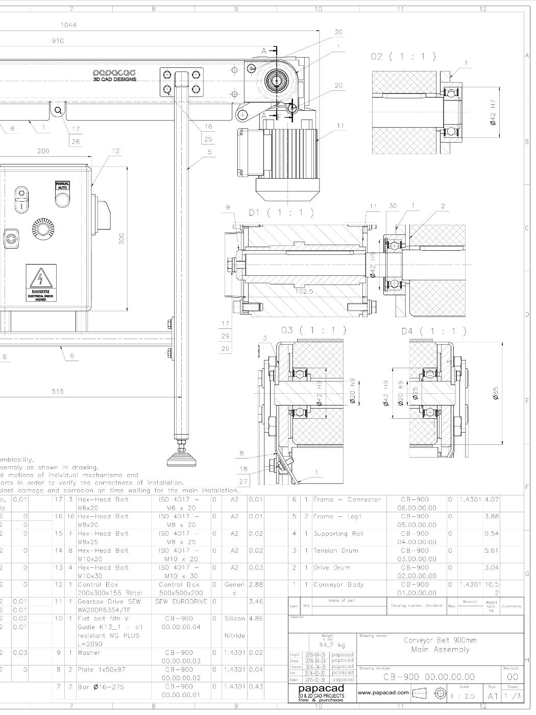 Belt Conveyor Design