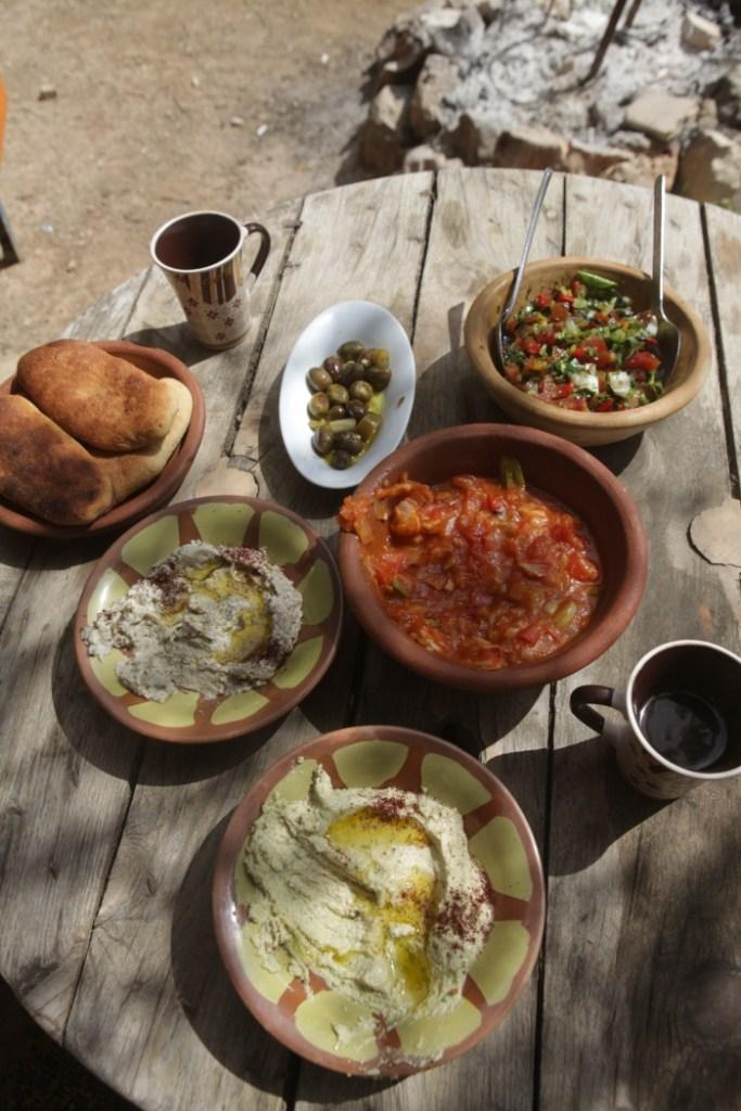 brunch vegano palestino