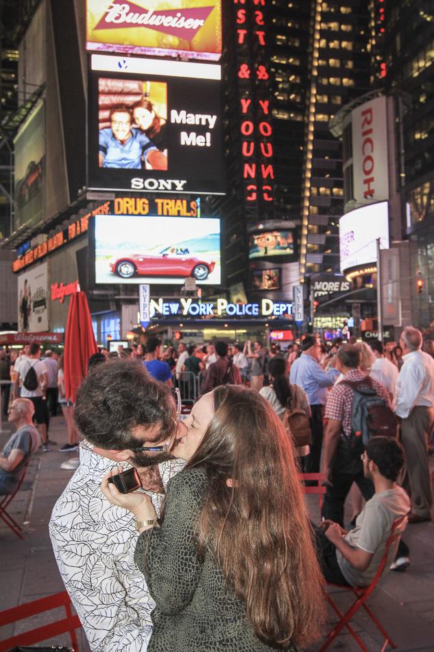 Martins Times Square Big Screen Proposal