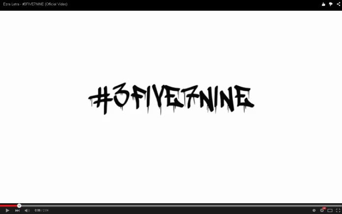 Rapper Ezra Letra Drops Hella Dope Video For #3FIVE7NINE