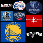 Western Conference Playoffs Predictions @NBA by @Spitsgame