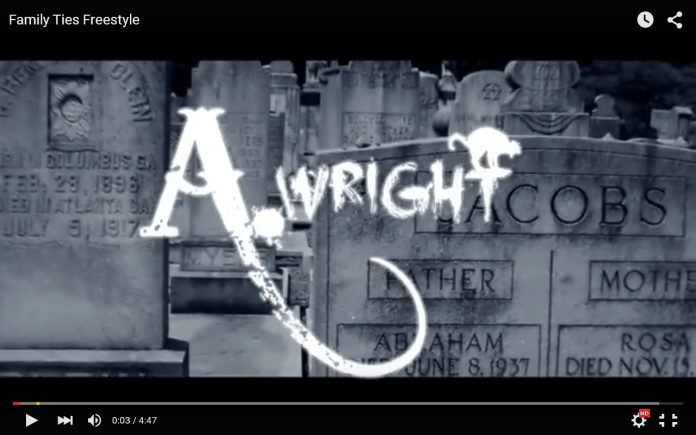 Video: A Wright - Family Ties Freestyle