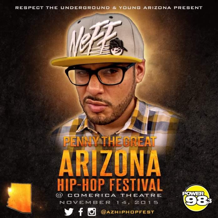 Rapper Penny The Great Talks AZ Hip Hop Festival