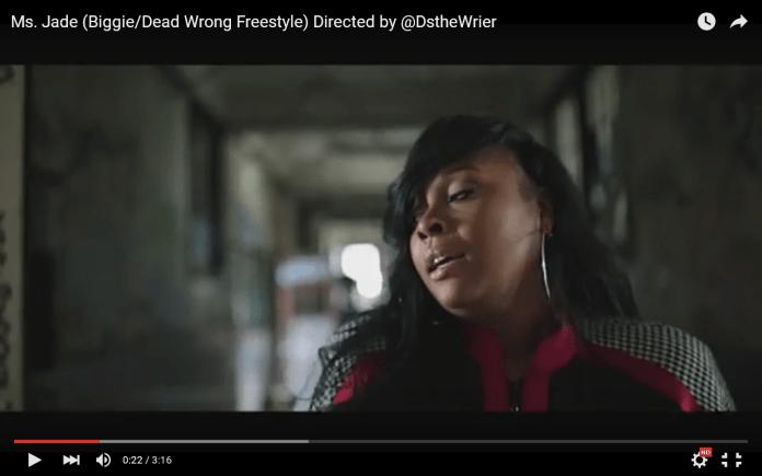 Video: Ms. Jade – Biggie/Dead Wrong Freestyle