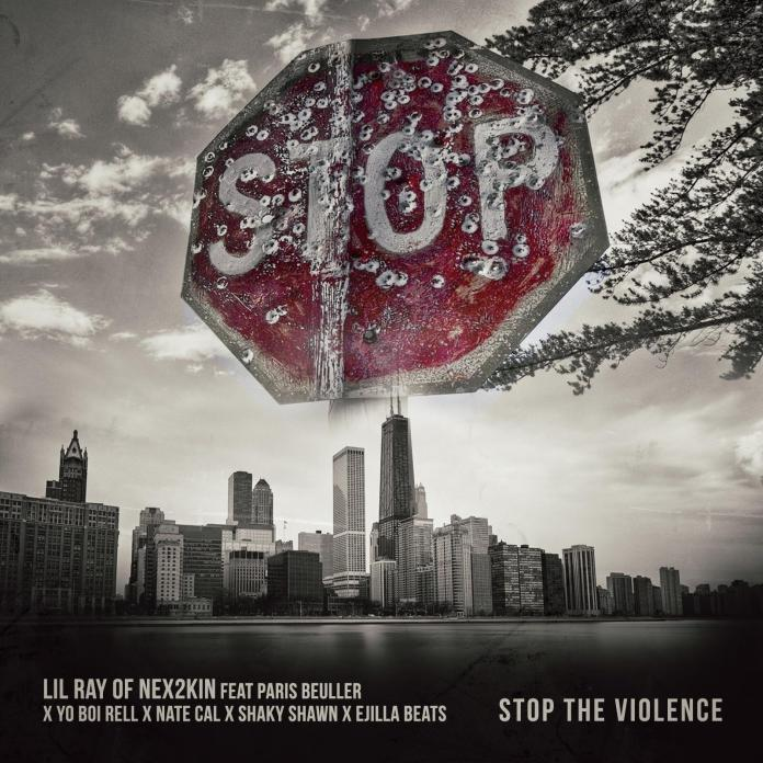 Video: Lil Ray And Paris Beuller - Stop The Violence
