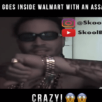 Rapper Goes Inside Walmart With a Assault Rifle | @blissmusic4u