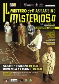 Manifesto Il mistero dell'assassino misterioso