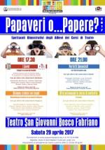 Papaveri o Papere? 2017