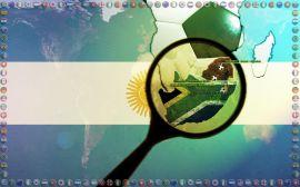 Papel de parede 'Copa do Mundo - Argentina'