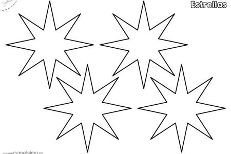 Top Five Dibujos De Estrellas Para Colorear E Imprimir Circus