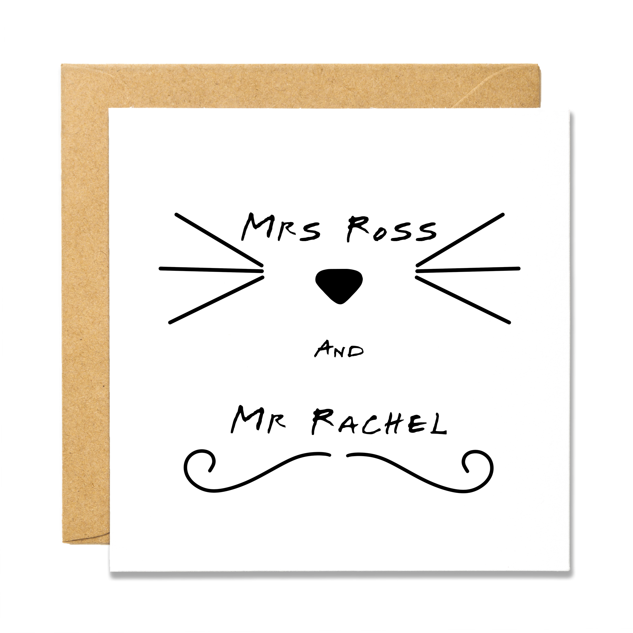 Mrs Ross & Mr Rachel