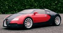 Papercraft del Bugatti Veyron. Manualidades a Raudales.