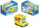 Paper model de un camión de Lego. Manualidades a Raudales.