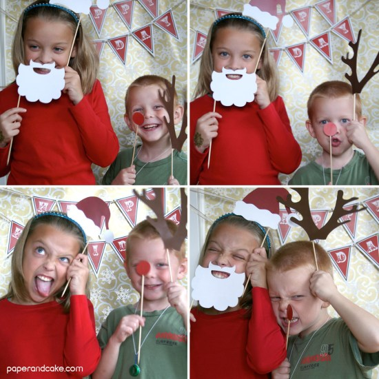 Holiday Photo Booth Props wm