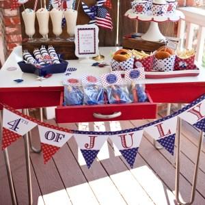 american icons patriotic printable party