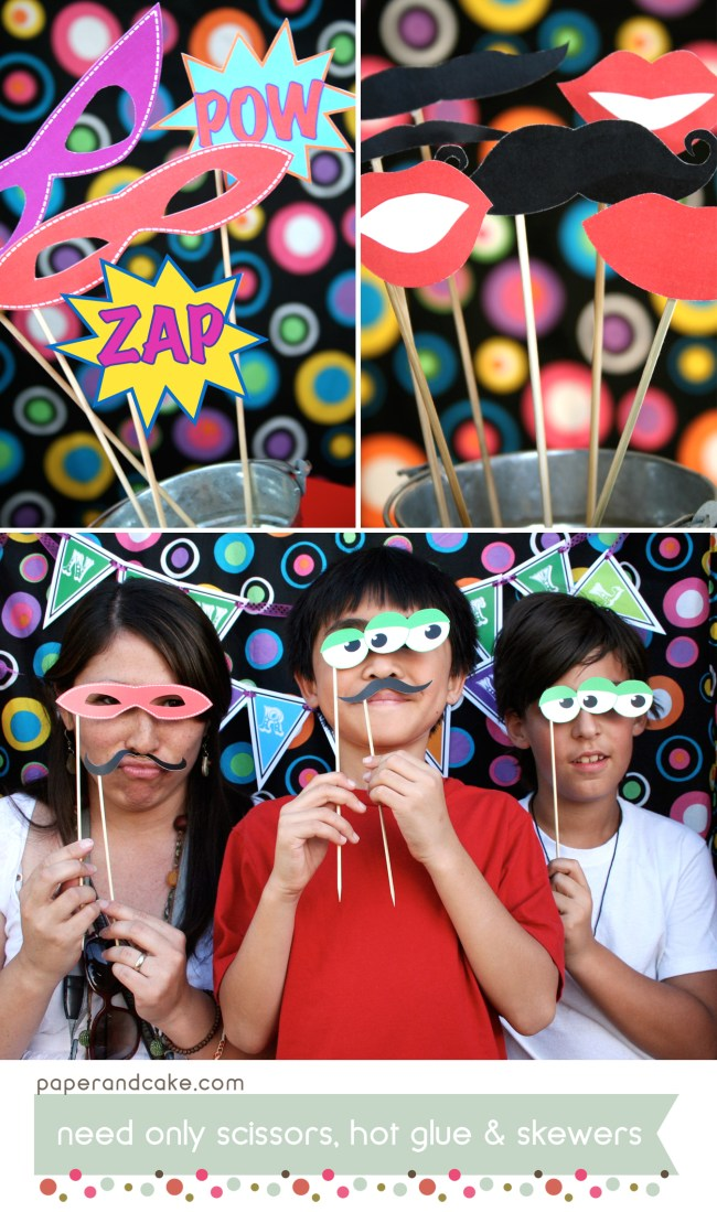 carnival printable photo booth props