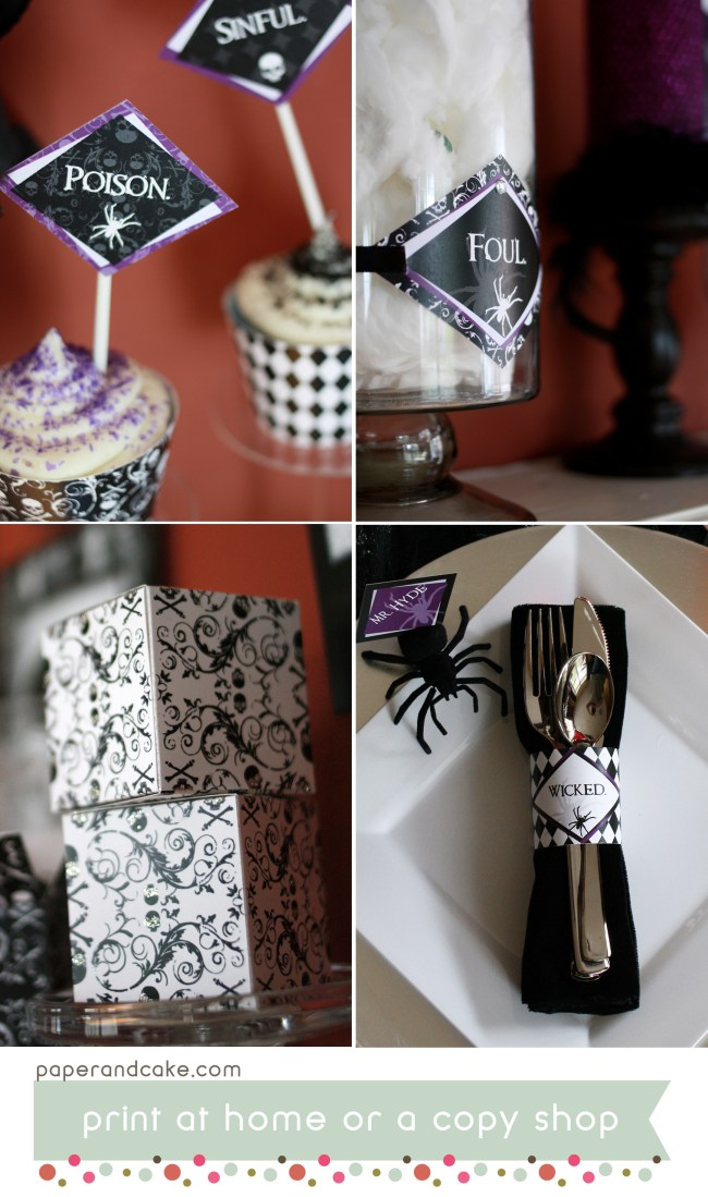 Wicked Hallows Eve Printable Halloween Party