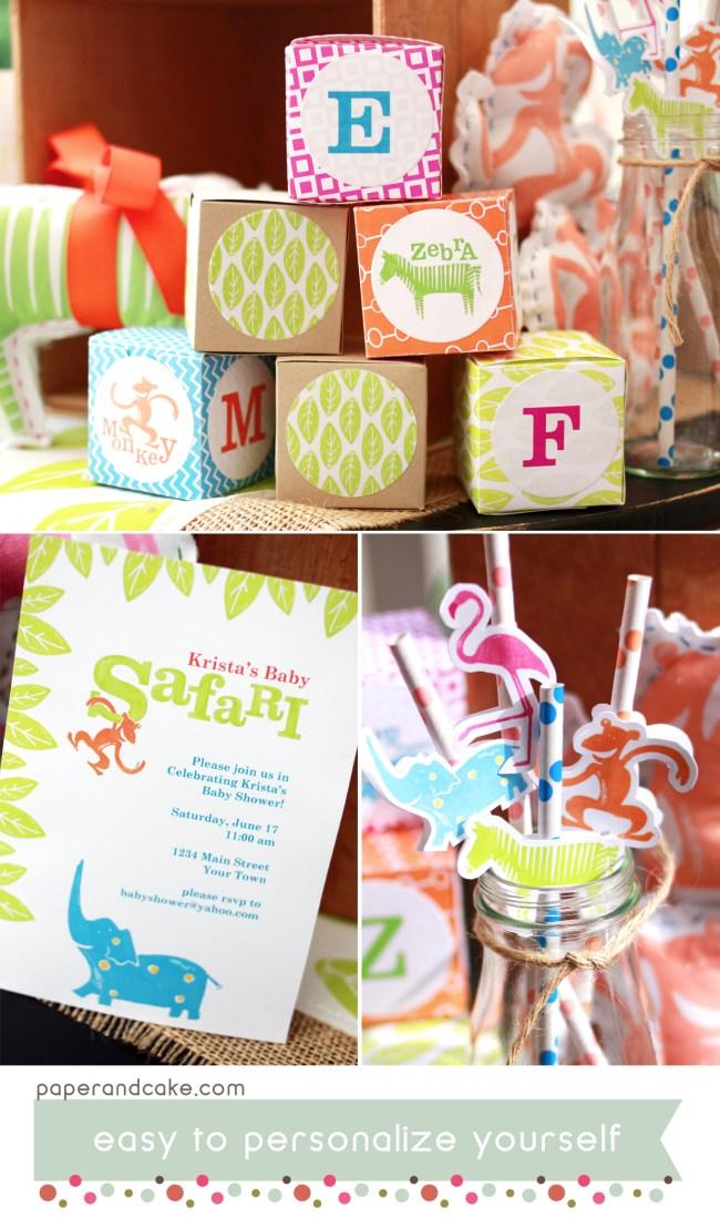 Safari Printable Party