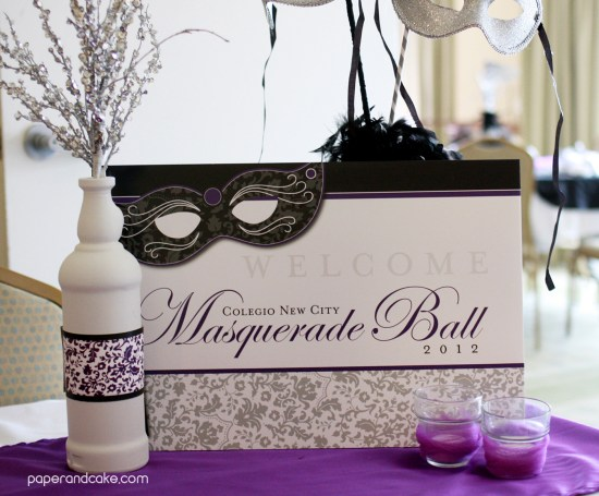 a masquerade prom by paper and cake