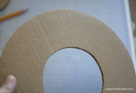 FREEBIE Friday from Paper & Cake Paper Flower Fall Wreath all cut