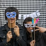 Masquerade printable photo booth props