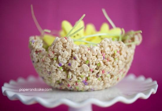 Edible peeps Easter Baskets